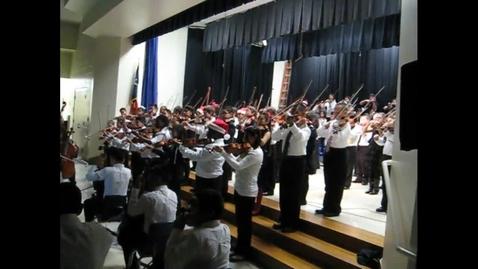 Thumbnail for entry Crockett 5GC Orchestra Christmas Concert