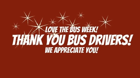 Thumbnail for entry Love The Bus Week