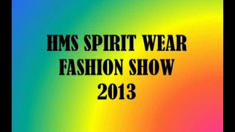Thumbnail for entry 2013 HMS Fashion Show