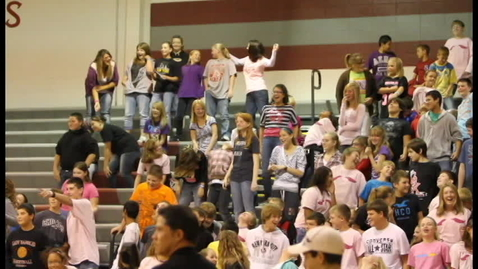 Thumbnail for entry MS doing the Bernie at Pep Session