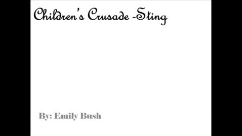 Thumbnail for entry Children's Crusade