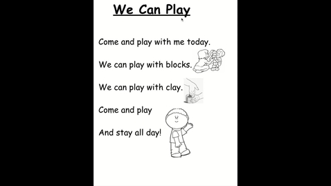 Thumbnail for entry We Can Play poem - Google Slides