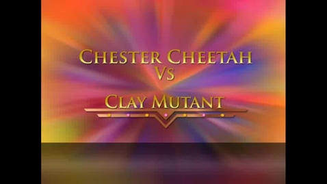 Thumbnail for entry Stop Motion Animation Project: Chester Cheetah Vs Clay Mutant