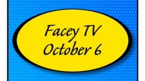 Thumbnail for entry Facey TV Oct. 6, 2010