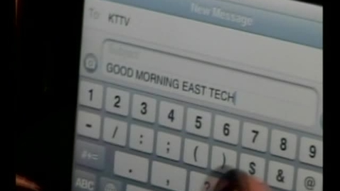 Thumbnail for entry 04-27-11 Good Morning East Tech Friday Edition