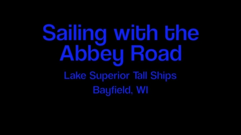 Thumbnail for entry Sailing the Abbey Road
