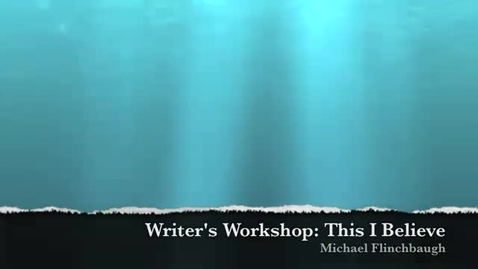 Thumbnail for entry Writers Workshop
