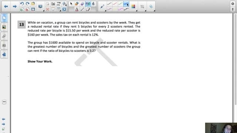 Thumbnail for entry Ratios and Proportional Relationships