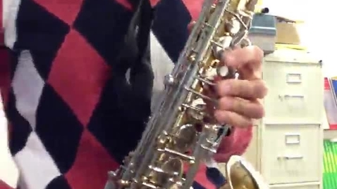 Thumbnail for entry End Zone 2nd alto sax pt 2