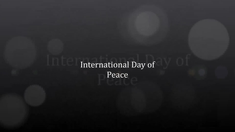 Thumbnail for entry Intl Day of Peace in Darda