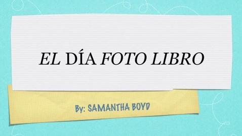 Thumbnail for entry fotografa dias