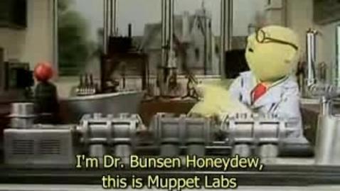 Thumbnail for entry Muppet Labs Banana Sharpener