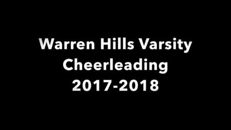 Thumbnail for entry Warren Hills Varsity Cheerleading