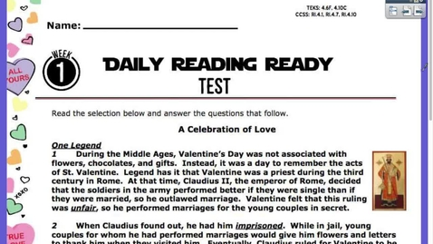 Thumbnail for entry Reading Test Feb. 5
