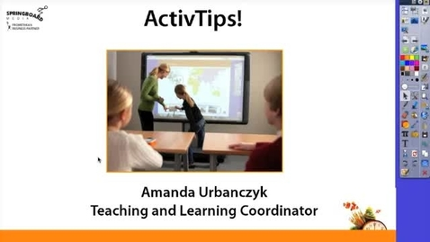 Thumbnail for entry Creating activities with Connectors in ActivInspire
