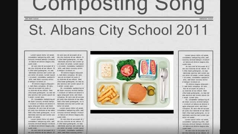 Thumbnail for entry Composting Song