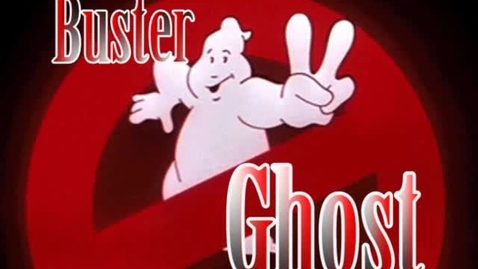 Thumbnail for entry BUSTER GHOST DUDE