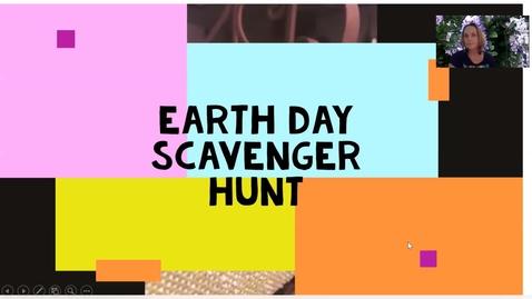 Thumbnail for entry Earth Day Scavenger Hunt Challenge