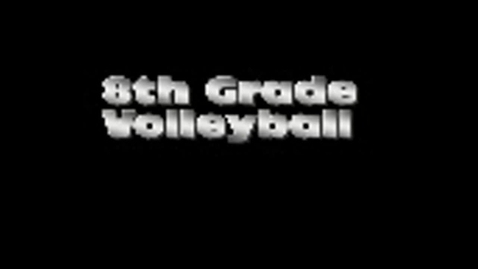 Thumbnail for entry Brownell Girls' Volleyball