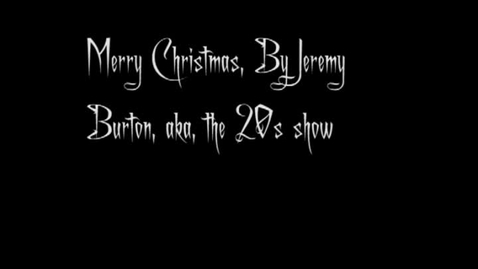 Thumbnail for entry Christmas card - the 20s show, JRB
