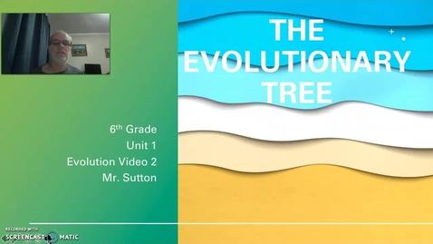 Thumbnail for entry Evolutionary Tree