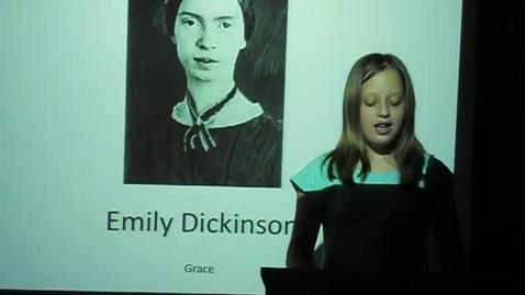 Thumbnail for entry Emily Dickinson