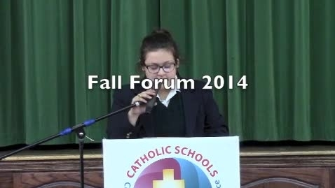 Thumbnail for entry Fall Forum 2014