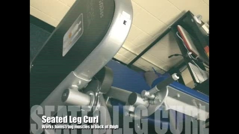 Thumbnail for entry Seated Leg Curl Demo