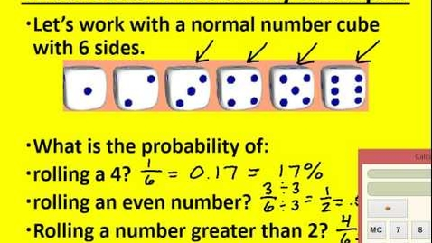 Thumbnail for entry Theoretical and Experimental Probability