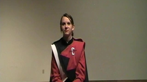 Thumbnail for entry Caitlin Schmidt Audition Video