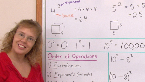 Thumbnail for entry Order of Operations (pre-algebra lesson)