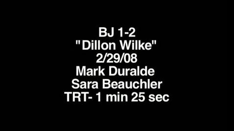 Thumbnail for entry Dillon Wilke
