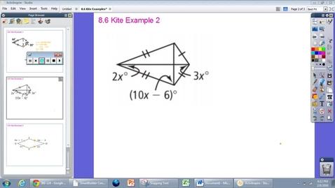 Thumbnail for entry 8.6 Kite Example #2