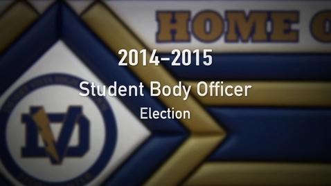 Thumbnail for entry Desert Vista 2014-2015 Student Body Election