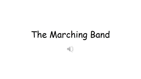 Thumbnail for entry The Marching Band