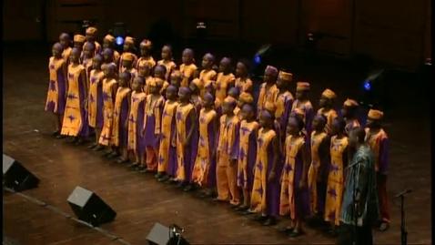 Thumbnail for entry O'sifuni mungu - African Children's Choir