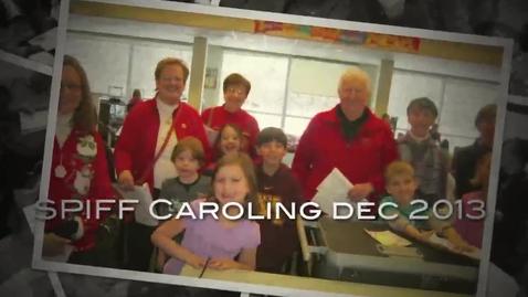 Thumbnail for entry SPIFF Caroling dec 2013