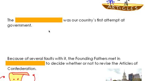 Thumbnail for entry Hist6- Unit 6 Part 2: Constitution