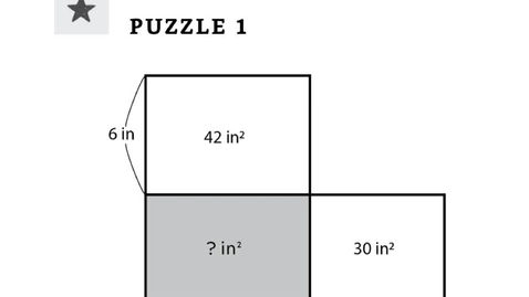 Thumbnail for entry Area puzzles - tutorial