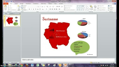 Thumbnail for entry PowerPoint Infographics - Insert Citations and Spell check