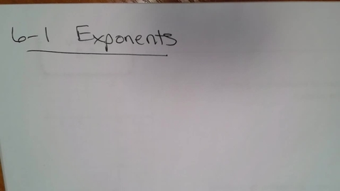 Thumbnail for entry Algebra H E06 (TSW 2) Negative Exponents