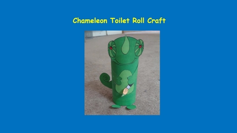 Thumbnail for entry Chameleon Craft