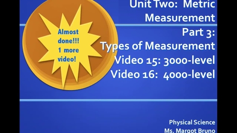 Thumbnail for entry Video 15 (3000) and Video 16 (4000)  Measuring density