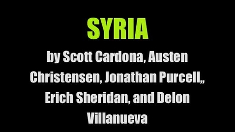 Thumbnail for entry 3, Syria