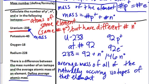 Thumbnail for entry Stephens Chemistry: Molar Mass and Percent Composition