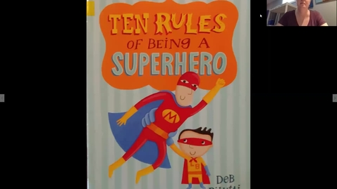 Thumbnail for entry 10 rules of being a superhero readaloud
