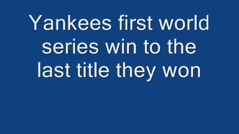 Thumbnail for entry Yankees
