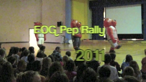 Thumbnail for entry EOG Pep Rally 2011