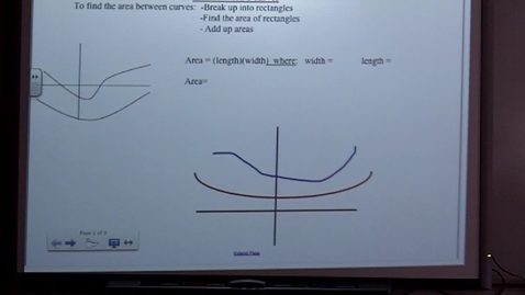 Thumbnail for entry Calculus Section 7-1