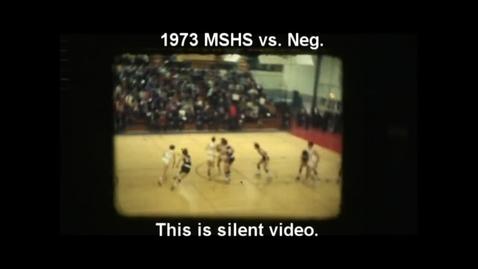 Thumbnail for entry 1973 Marquette Senior High School basketball vs. Negaunee